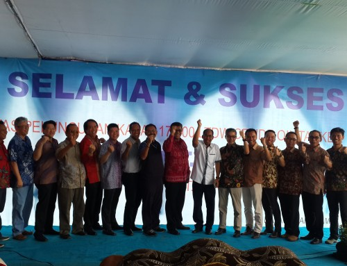 DRU Launched Tanker Ship owned by PT Pertamina