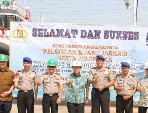 DRU Shipyard Handed Over Six Units Polairud FPB Ship